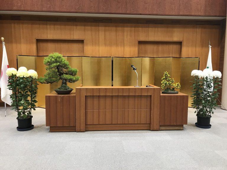 松盆栽のレンタル